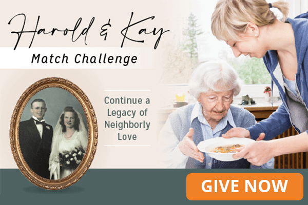 Harold and Kay March Campaign for Gleaners