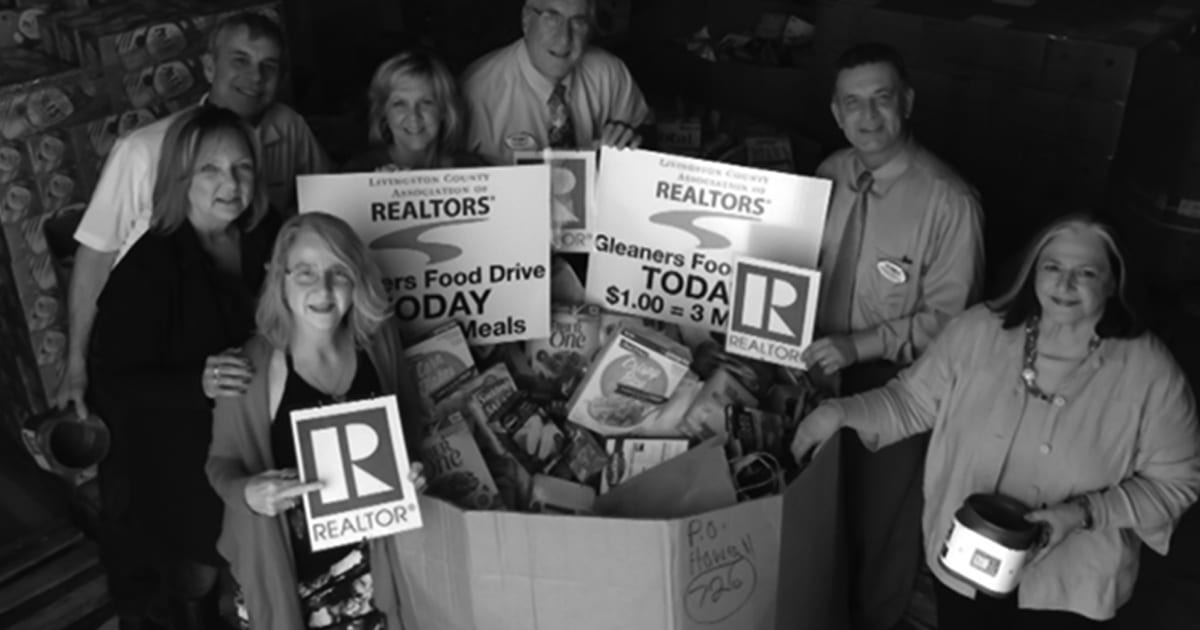 Realtors have another successful food drive!