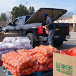 Loading up a Truck at an Emergency Mobile