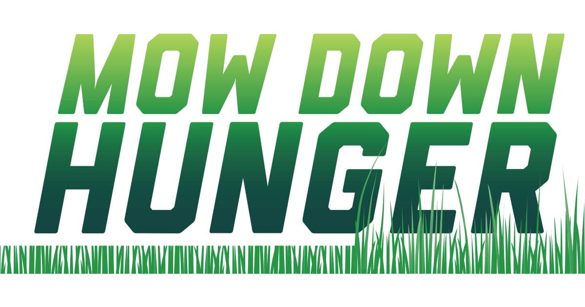 Mow Down Hunger Logo